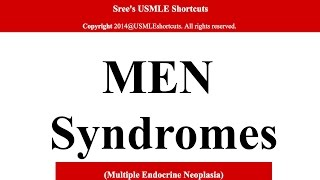 For Medical students only- MEN syndrome-1