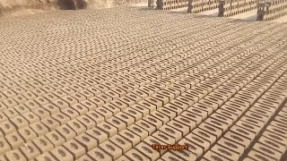 How To Make Manual Clay Bricks Classical Complete Process In India Pakistan kiln industry