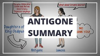 ANTIGONE BY SOPHOCLES // ANIMATED BOOK SUMMARY