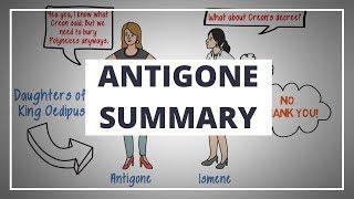 ANTIGONE BY SOPHOCLES - ANIMATED PLAY SUMMARY