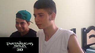 Tartarugas Ninjas: Fora das Sombras Trailer 2 - Reaction/Reação
