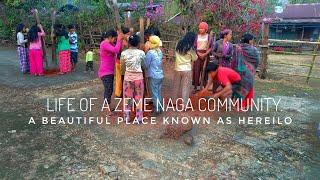 Last Zeme Naga Village (Hereilo) Near Manipur.
