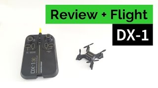 Sharper Image DX-1 Micro Drone - Review and Flight