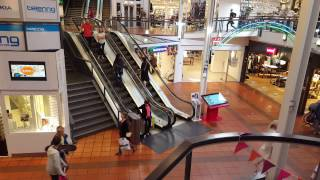 Escalator in Shopping Centre 4K - Licence Free - Free Stock Footage - Royalty Free