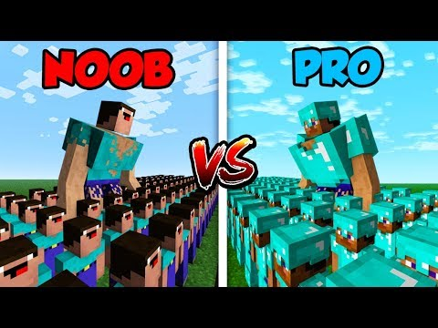 Xxx Mp4 Minecraft NOOB Vs PRO NOOB ARMY Vs PRO ARMY In Minecraft 3gp Sex