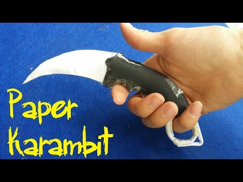Xxx Mp4 How To Make A Karambit Knife Paper Knife Very Simple 3gp Sex