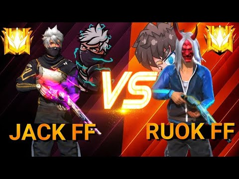 Freefire OP JACK ⚔️ RUOK FF 🇹🇭 VS 🇲🇦 CRAZY GAMEPLAY �