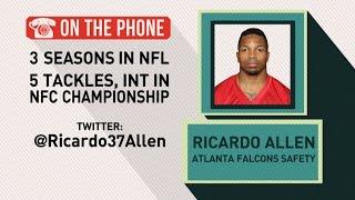 Gottlieb: Ricardo Allen talks Falcons