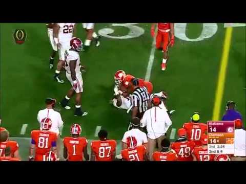 Deshaun Watson s Highlights vs. Alabama 2015 16 national title game