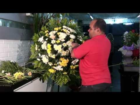 Como fazer coroas de flores BH MG