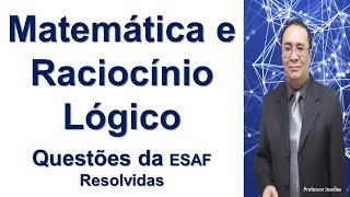 PROVA AFRF 2014 ESAF ESTATÍSTICA QUESTÃO 01 RESOLVIDA PROFESSOR JOSELIAS