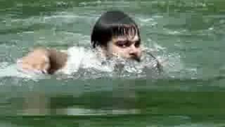 Swimming in kulam at my tharavadu........