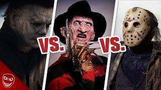 Welches Horrorfilm Monster ist das stärkste? Michael Myers vs Freddy vs Jason!