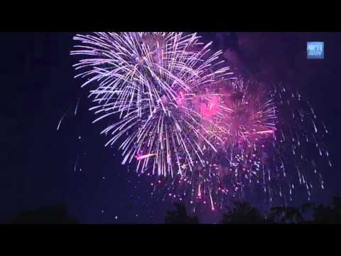 watch Fireworks with Patriotic Music Soundtrack by U.S. Military Bands