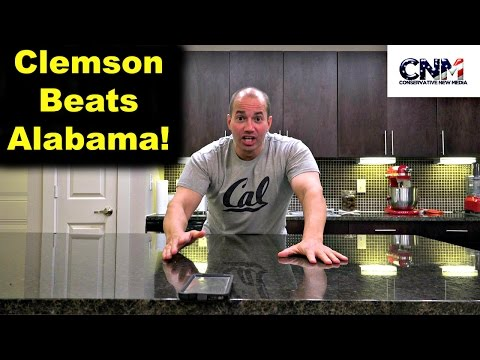 2017 College Football Championship Game Clemson vs. Alabama Reaction in 4K Ultra HD