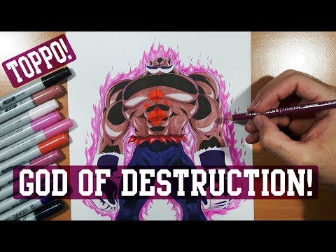 Xxx Mp4 Drawing Toppo God Of Destruction FORM Dragon Ball Super 3gp Sex