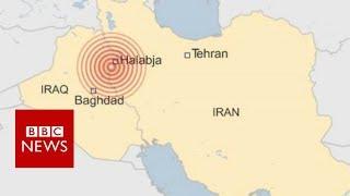 Iraq-Iran earthquake: Deadly tremor hits border region - BBC News