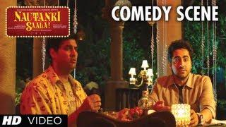 Nautanki Saala Comedy Scene - Usse Pyar Nahi Karti Hai Woh | Ayushmann Khurrana, Kunaal Roy Kapur