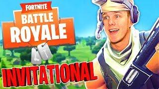 THE FORTNITE INVITATIONAL (Fortnite Battle Royale)