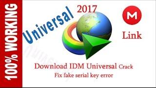 Download IDM universal crack 2017