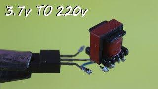 How to Make 3.7 to 220v Mini Inverter