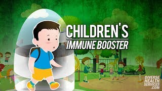 Children's Immune Booster • Stay Ahead of the Flu