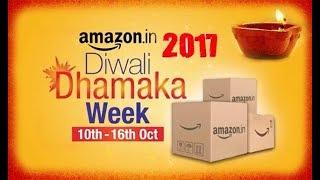 Amazon Diwali 2017 Sale Bumper offers & Discounts on LED TV , Washing machine , fridge
