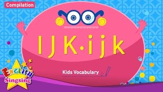 Kids vocabulary compilation - Words starting with I, J, K - English educational video for kids