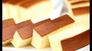 How To Make Cotton Soft Sponge Cake | Castella Cake Recipe