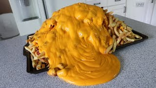 Epic Chili Cheese Fries!! (10,120 Calories)