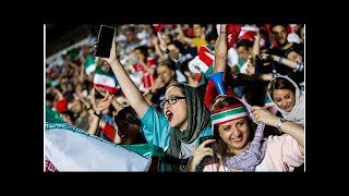 News Amid World Cup, Iranian women demand end to ban from stadiums