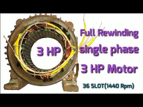 Xxx Mp4 Full Rewinding 36slot Single Phase 3hp Motor Rpm 1440 आटा चक्की मोटर Sahabaj Khan 3gp Sex