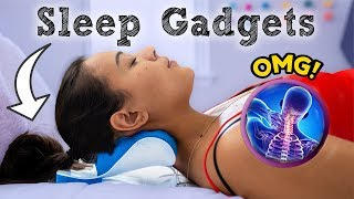 How to Fall Asleep FAST When You CAN'T Sleep! 7 Sleep Gadgets You Should Try!