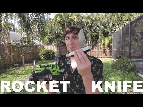 150 mph Rocket Knife