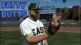 Showcase Game 2 -  MLB The Show 19 - Fatty Butts (SP) Road To The Show MLB 19 RTTS Pitcher EP2