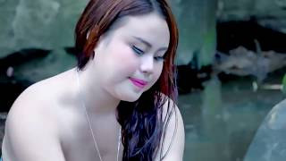 Beautiful Girl Take a Bathing in River  Traditional Bathing at My Countryside   YouTube