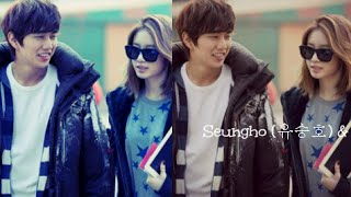 Yoo Seungho and Park Jiyeon