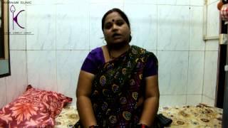 Prolozone Back Pain testimonial for Dr. Karnam, Oxyfresh Medical Center, Mumbai, India