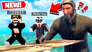 FORTNITE MURDER RETURNS!! Minecraft Modded Mini Game