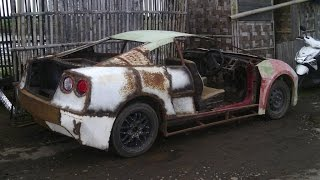 mobil sport dari rongsokan asli kendal