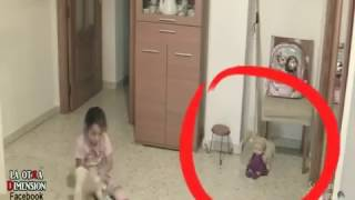 Real ghost caught on Camera? A Father put cameras in the house
