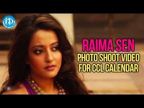 Raima Sen Latest Hot Photo Shoot Video For CCL Calendar