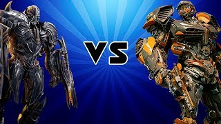 Transformers Battle - Megatron vs Hot Rod