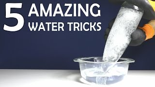 5 Awesome Experiments using Liquid - Cool Tricks You Can Do At Home