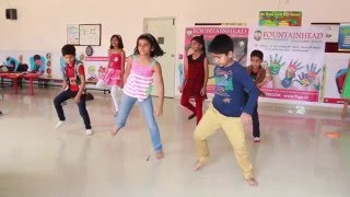 Bajirao masthani movie full song malhari  performance by fountain heads global high school students