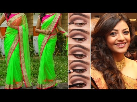 Xxx Mp4 💇2 Different Party Style Saree Draping With Party Style Makeup And Party Hairstyles Step By Step 3gp Sex