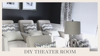 HOME THEATER ROOM MAKEOVER | HOME IMPROVEMENT
