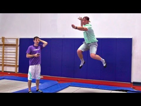 Trampoline Charades Battle Dude Perfect