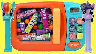 PEZ CANDY Dispensers, MLP MY LITTLE PONY, Trolls Poppy MAGICAL MICROWAVE / TUYC