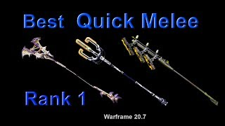 Warframe: Best Quick Melee Weapons for High-Level Content (Condition Overload, Blood Rush)